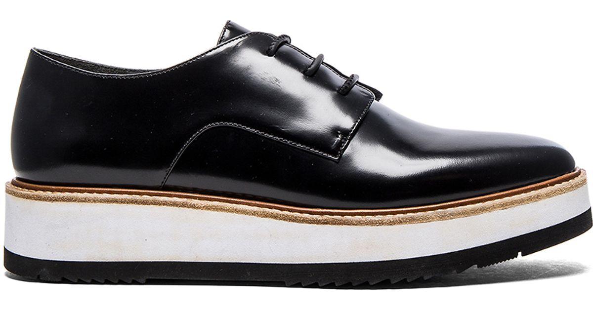 a5b32fba425 Lyst - Vince Reed Oxford in Black