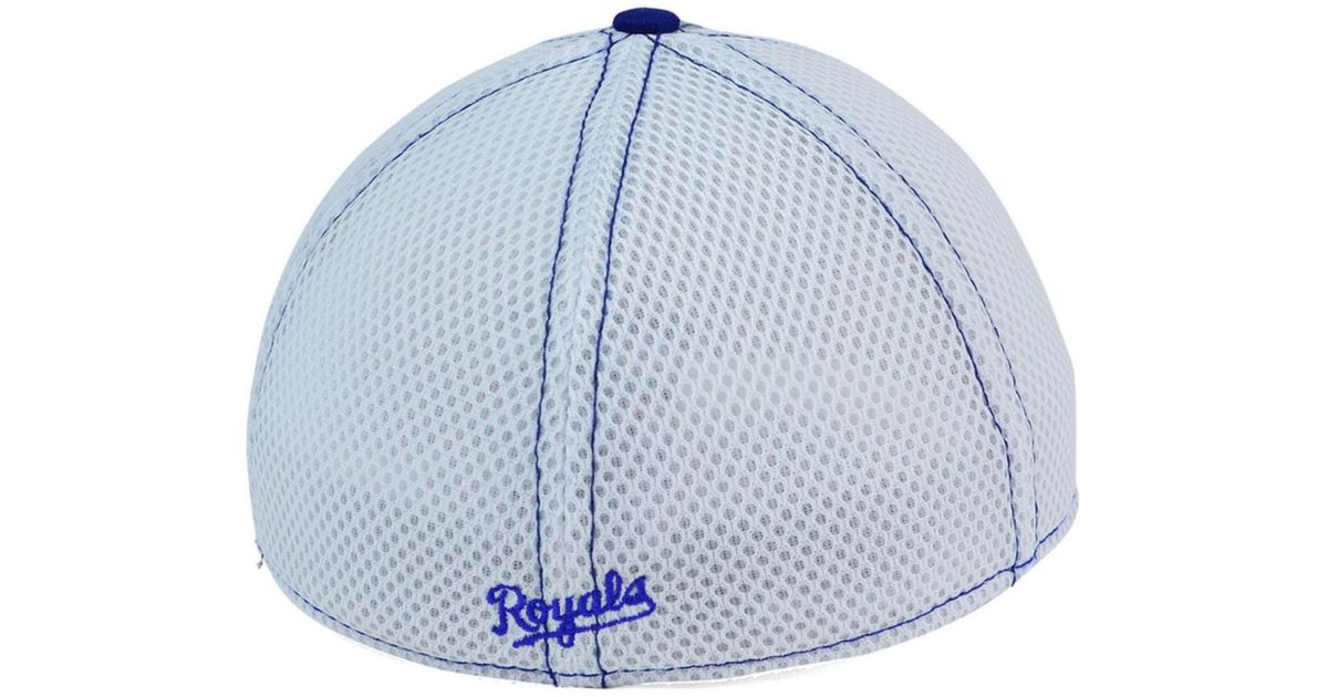 newest 13299 dc4a4 KTZ Kansas City Royals Heathered Neo 39thirty Cap in Gray for Men - Lyst