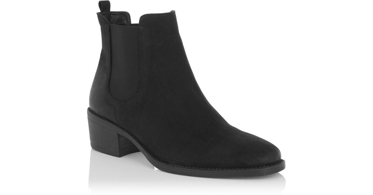 879b01ad495f Oasis Camille Chelsea Boots in Black - Lyst