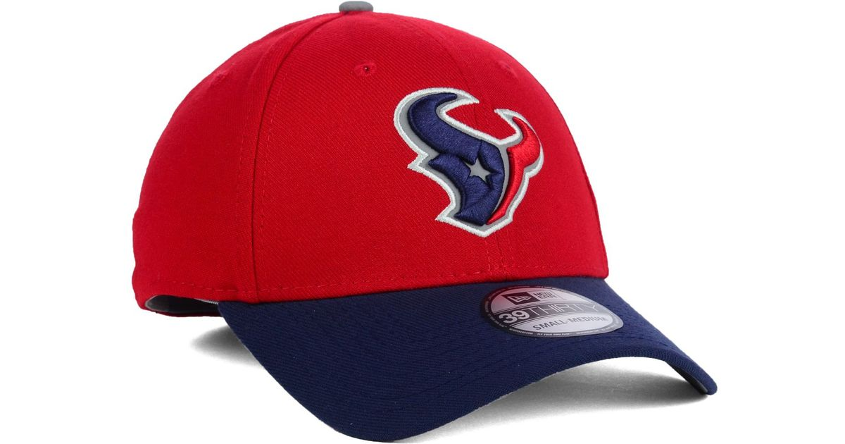 pretty nice f6796 e3368 ... usa lyst ktz houston texans on field reflective 39thirty cap in red for  men 05f32 26a3d