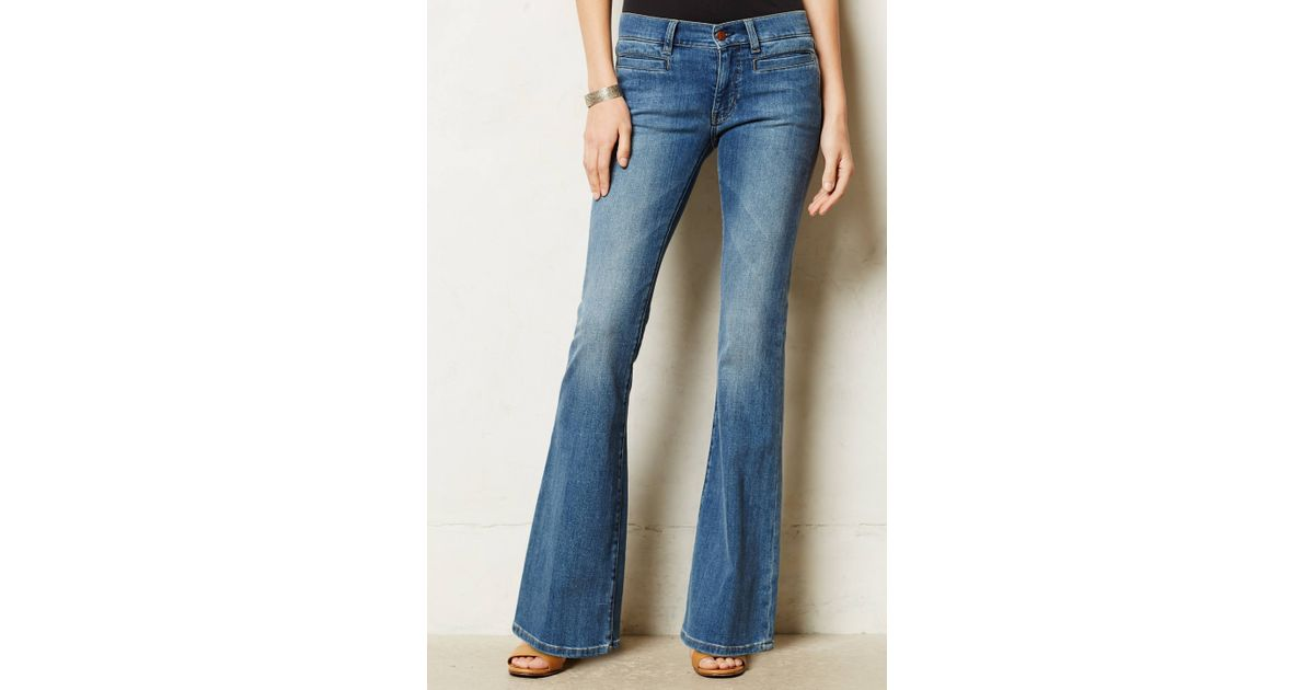 M.i.h jeans Petite Casablanca Flare Jeans in Blue | Lyst