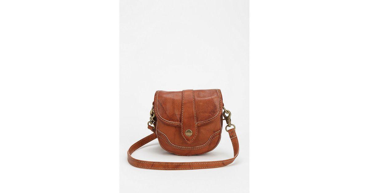 17b80f9beb Lyst - Frye Frye Campus Mini Crossbody Bag in Brown