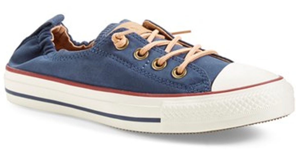 7939452beda4 Lyst - Converse Chuck Taylor All Star  peached - Shoreline  Low Top Slip-on  Sneaker in Blue