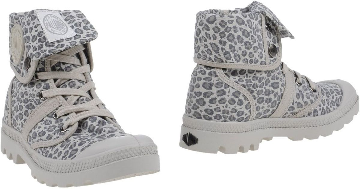 Luxury  Winter Palladium BOOTS LP SUD Grey  Shoes Mid Boots Women Cheap Price