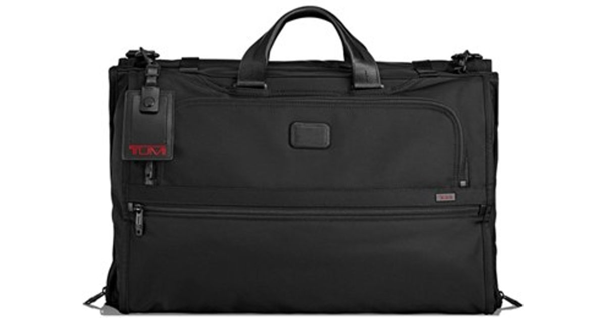 Tumi Alpha 2 Trifold Carry On Garment Bag In Black For Men Lyst
