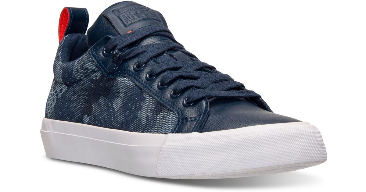 29fb85efcbf4 Lyst - Converse Men s Chuck Taylor All Star Fulton Camo Jacquard Casual  Sneakers From Finish Line in Blue for Men