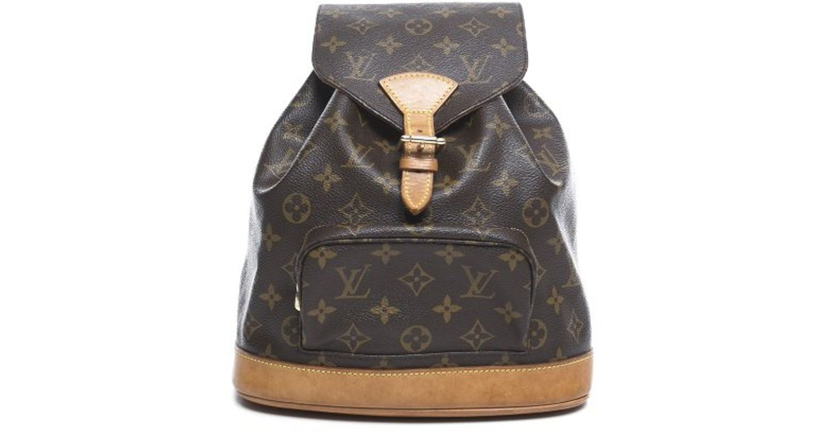 d9edce547e74 Louis Vuitton Monogram Canvas Montsouris Mm Backpack Bag - Motorslist