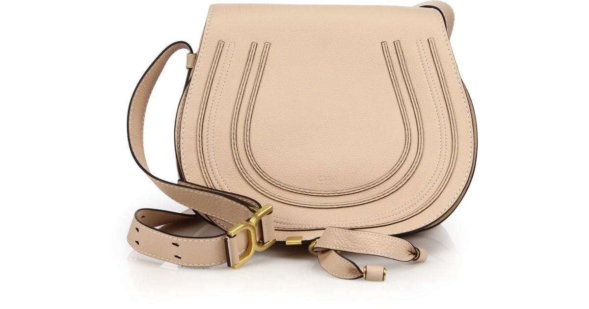 shop for best quality outlet Chloé - Pink Marcie Medium Crossbody Bag - Lyst
