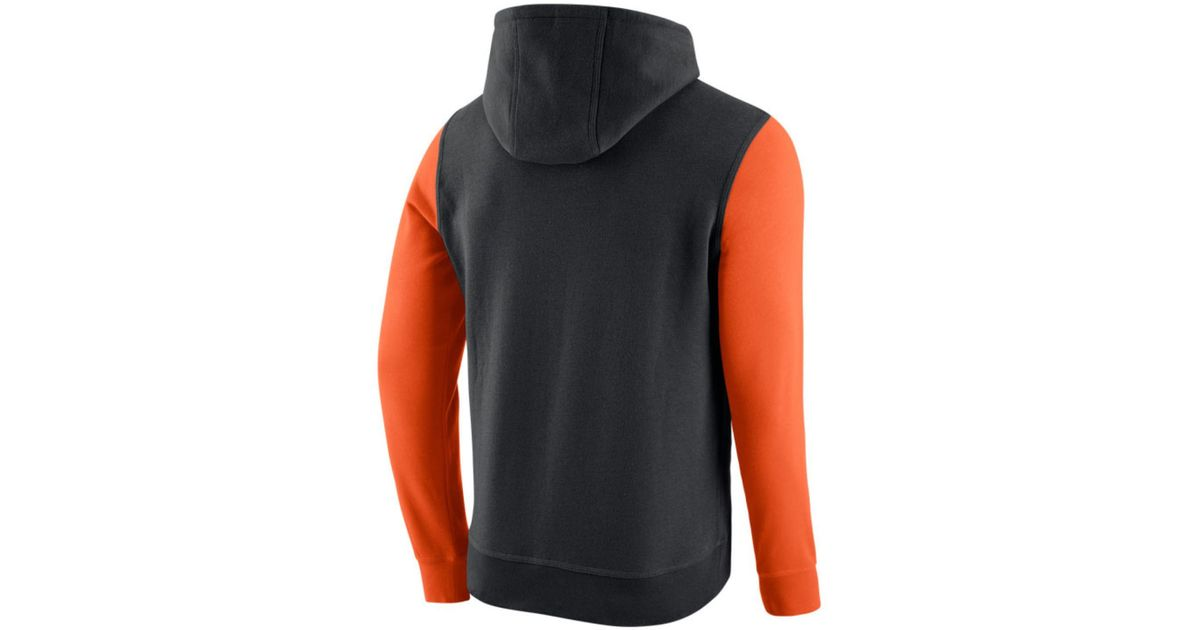 Size 8 10 Nike Boys Hoodie Sweatshirt Black Red Orange Therma Fit Fleece See more like this SPONSORED Nike Therma Training Hoodie, Black/Orange, Youth Boys, X-Large.