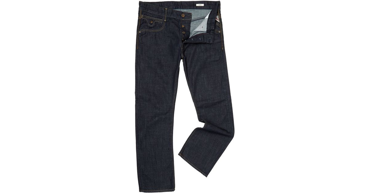 Replay Jimi Bootcut Jeans in Blue for Men | Lyst