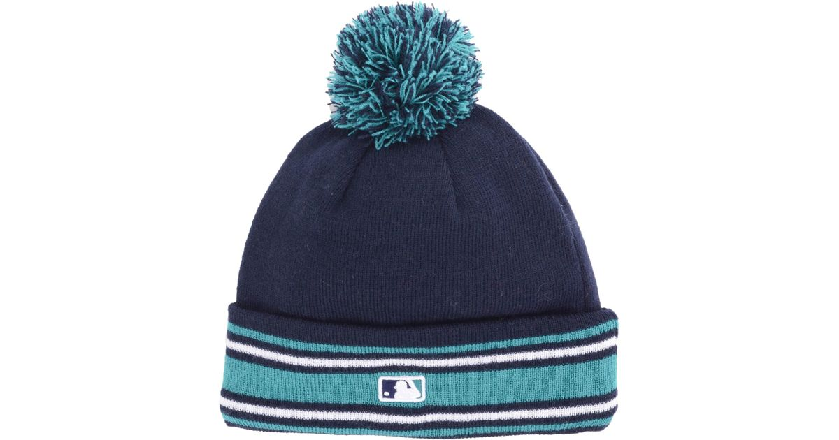 official photos e08ac bb5a0 Lyst - KTZ Seattle Mariners Ac Knit Hat in Blue for Men