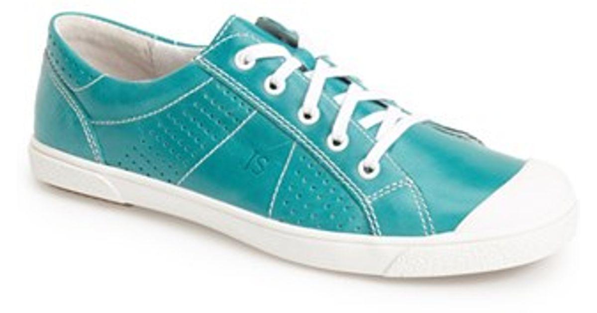 d7b2f76d5b1b0 Lyst - Josef Seibel  Lilo 13  Leather Sneaker in Blue