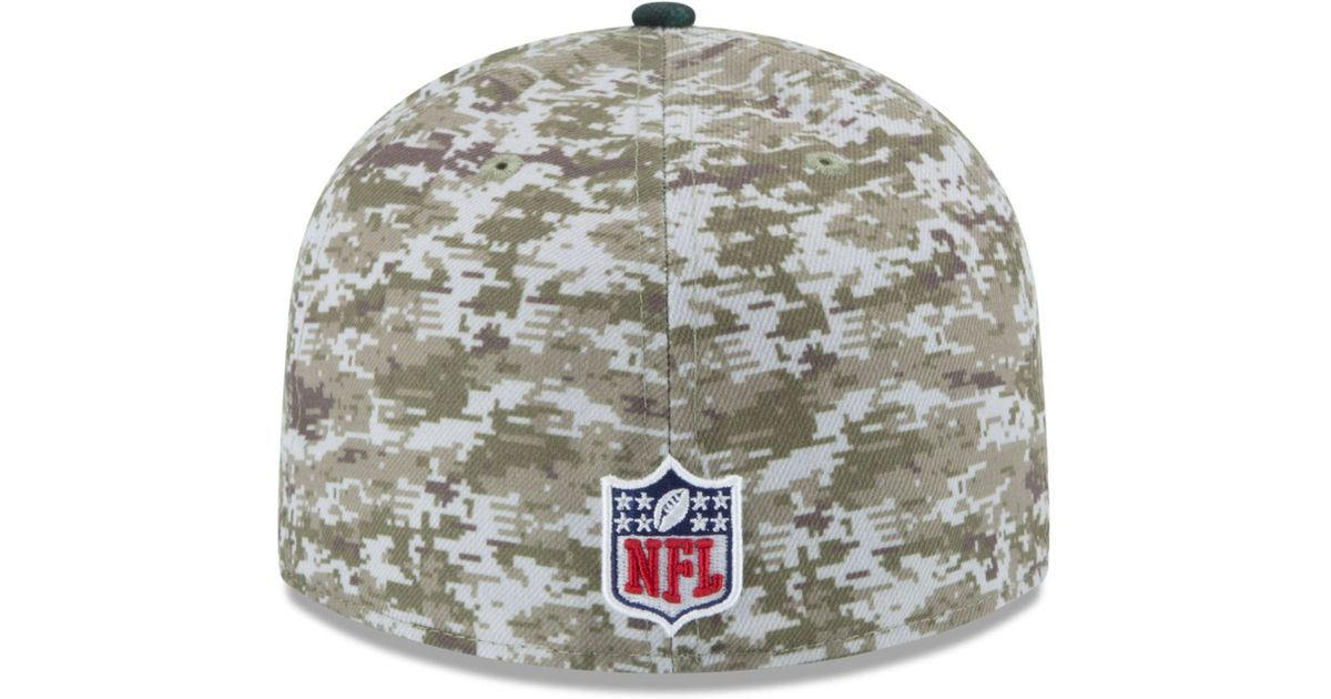 68bf88c7bd1 Lyst - Ktz Philadelphia Eagles Salute To Service 59fifty Cap in Green for  Men