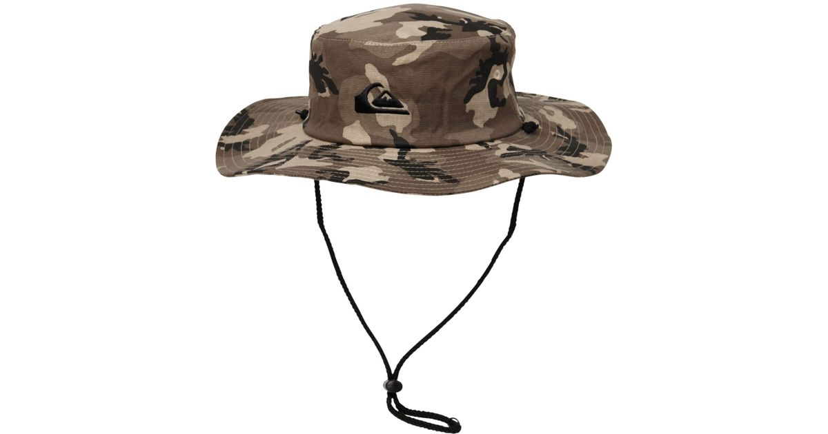 4d8e3cb881c48b ... clearance quiksilver bushmaster hat in green for men lyst 6f411 cb6bd