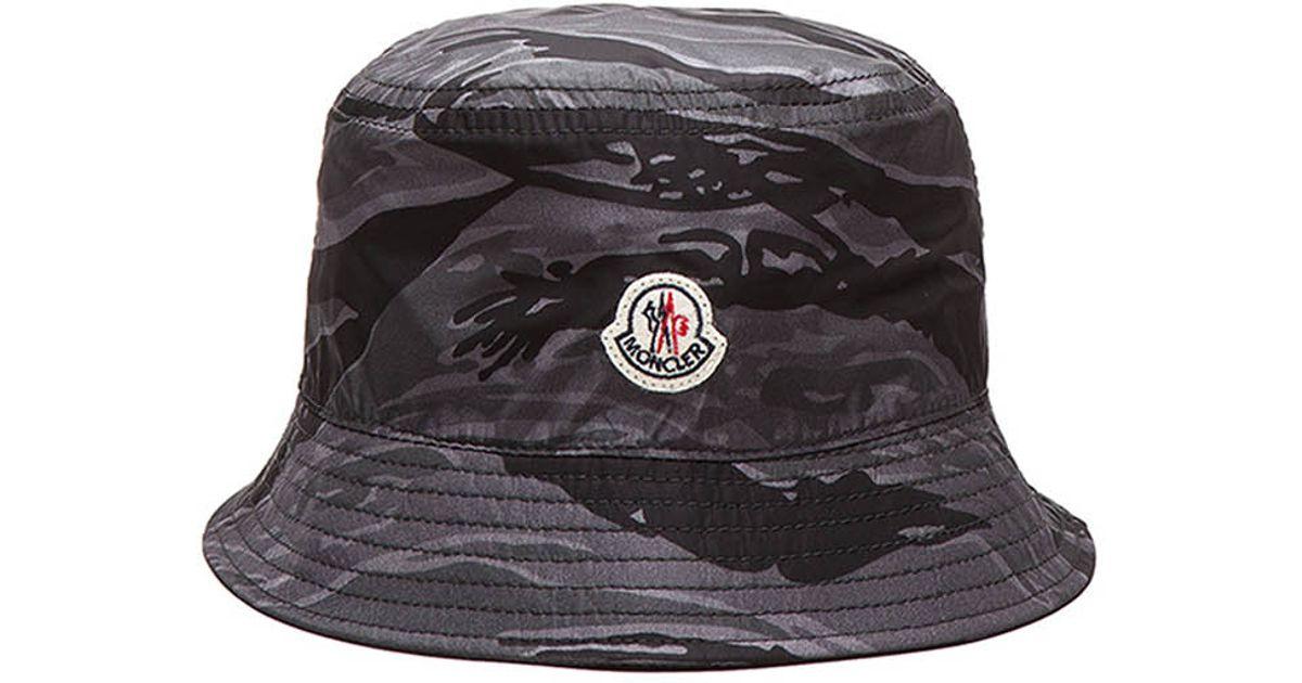 Lyst - Moncler Men S Bucket Hat in Purple ed25c8d743