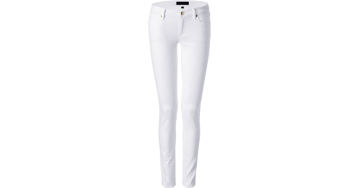 Lyst - Juicy Couture Skinny Jeans In White in White 73aafec61cef