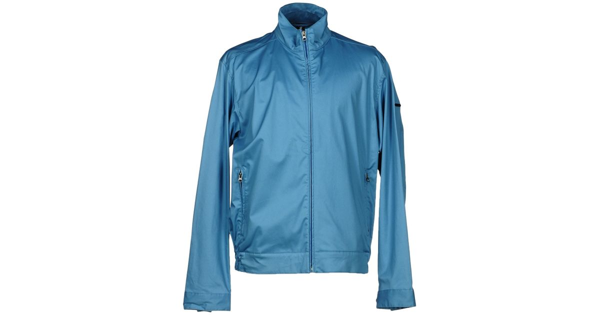 Colmar jacket in blue for men lyst for Blue piscine colmar