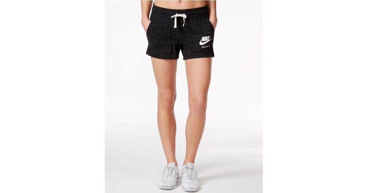 cd5c2c6641e1 Lyst - Nike Gym Vintage Shorts in Black
