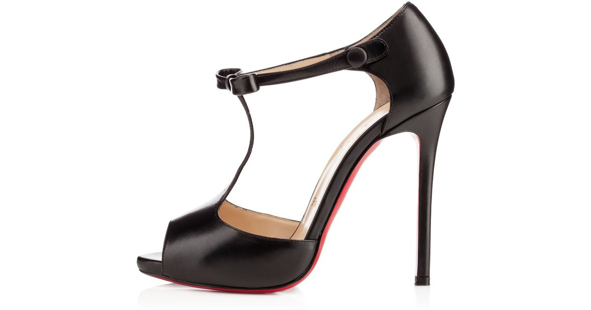 d1fce5734cc Christian Louboutin - Black Belly Nodo - Lyst