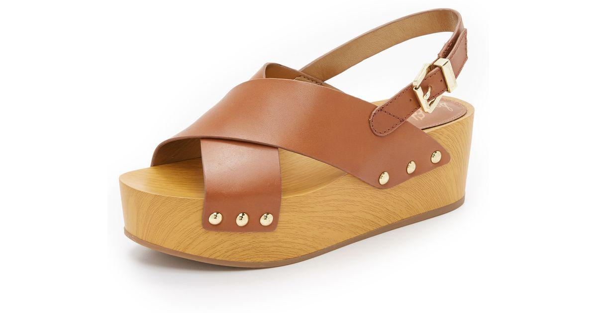 b34591c78e7 Lyst - Sam Edelman Bentlee Flatform Sandals