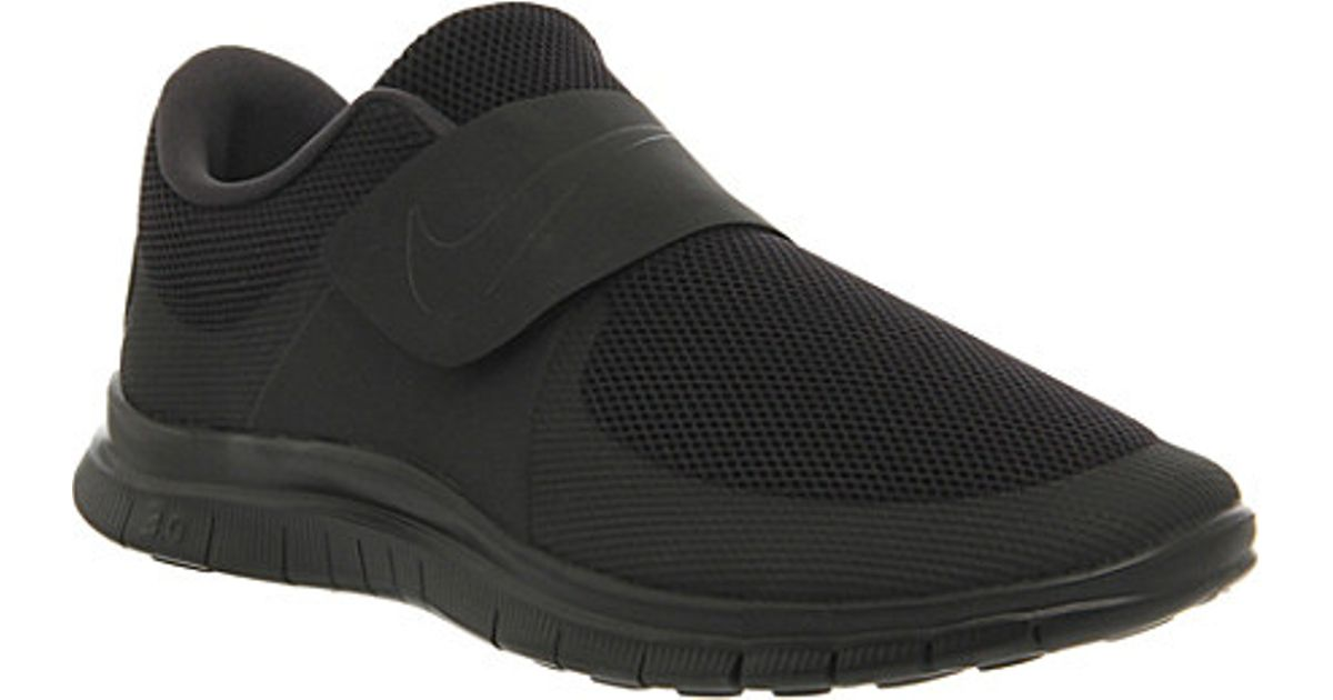 6a238d9d9b05c9 Nike Free Socfly Trainers - For Men in Black for Men - Lyst
