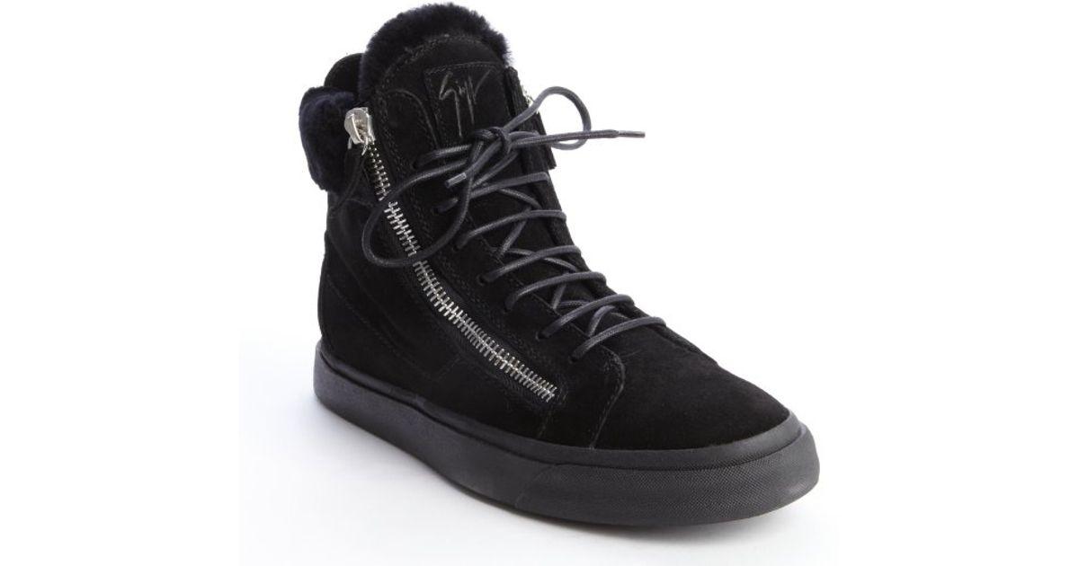 side zip sneakers - Black Giuseppe Zanotti UijP9X