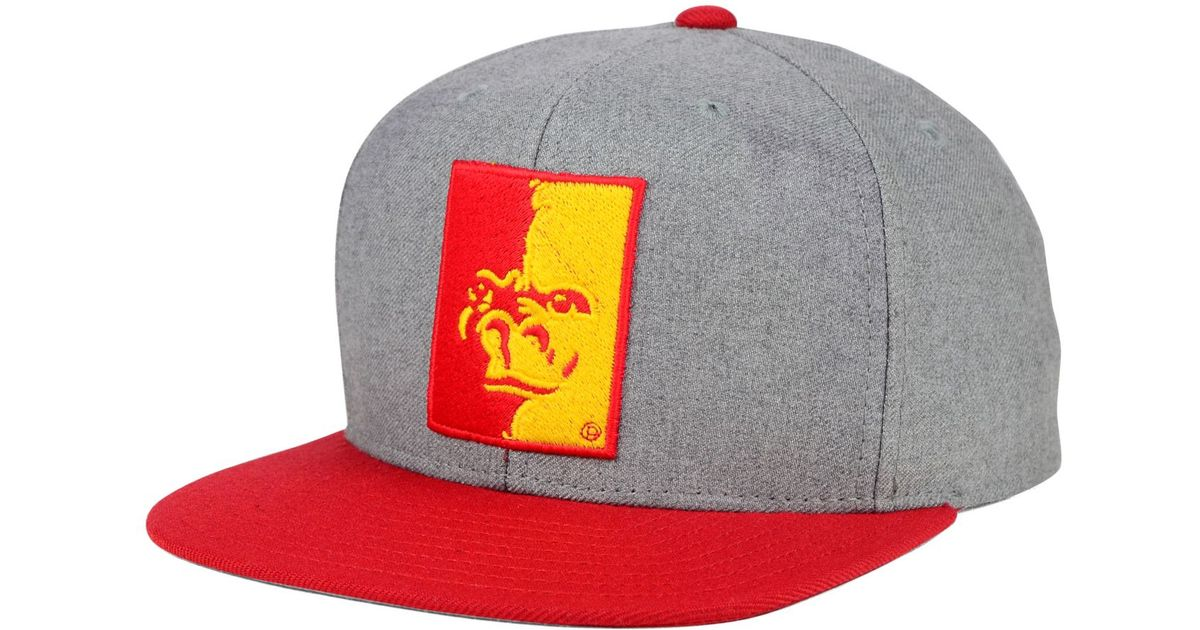 Lyst - Sports Licensed Division Adidas Pittsburg State Gorillas Stacked Box Snapback  Cap in Gray for Men 732846ebb283