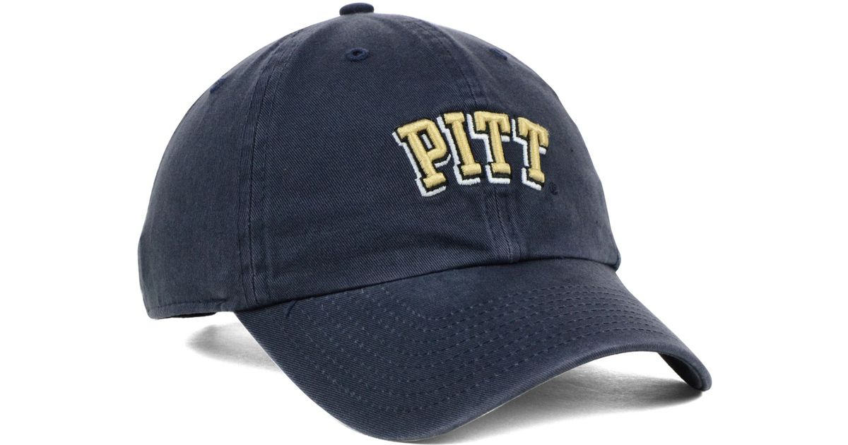 f1031bcf Lyst - 47 Brand Pittsburgh Panthers Ncaa Clean-up Cap in Blue for Men