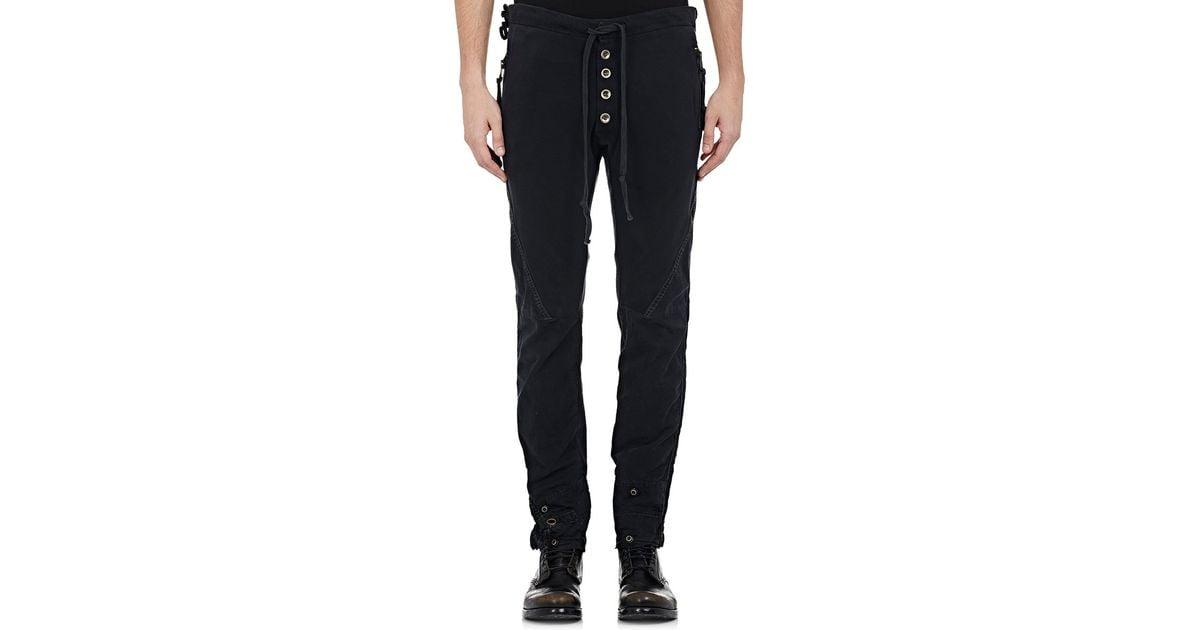 sc 1 st  Lyst & Lyst - Greg lauren Menu0027s Tent Gl1 Pants in Black for Men