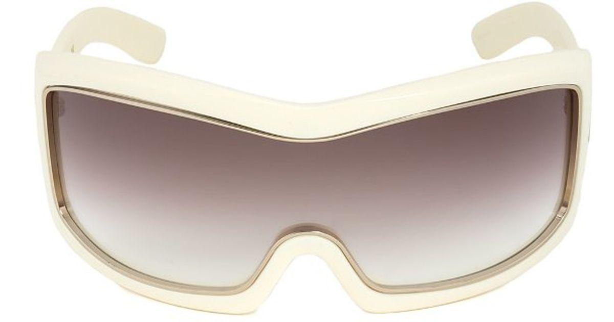 fb76489c9d325 Tom In Sunglasses Oversized White Shield Ford Olga Lyst Ft0305 rpqr64