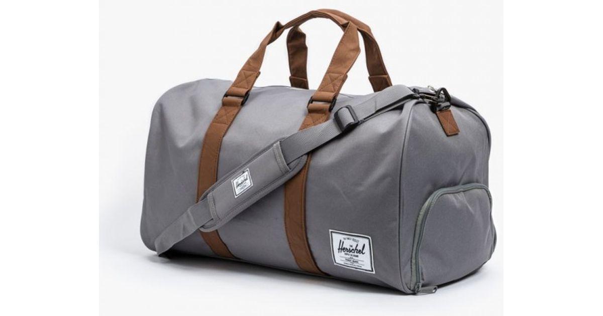 484dcef8d99 Herschel Supply Co. Novel Duffle Bag in Gray - Lyst
