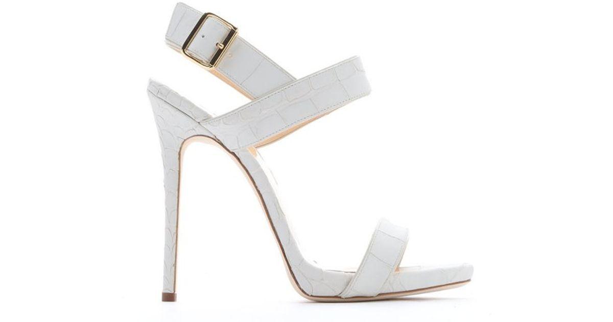 Giuseppe Zanotti White Logo Sandals OJQDVUZW