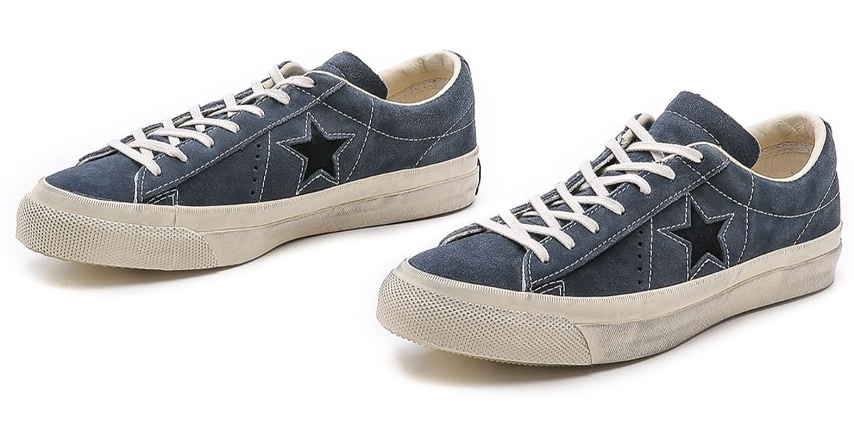 726b717fd3ed ... discount code for lyst converse one star sneakers in blue for men 25449  aaa80 closeout converse by john varvatos ...