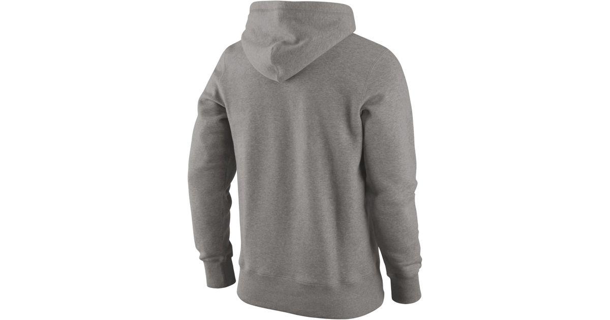 6199cb61ae31 Lyst - Nike Men S Denver Broncos Hoodie in Gray for Men