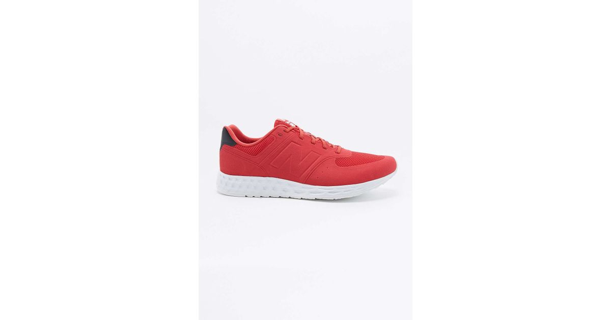 new balance 574 fresh foam red