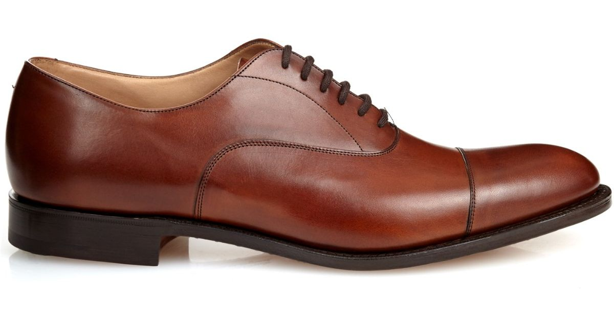 Lyst Church S Dubai Leather Oxford Shoes In Brown For Men