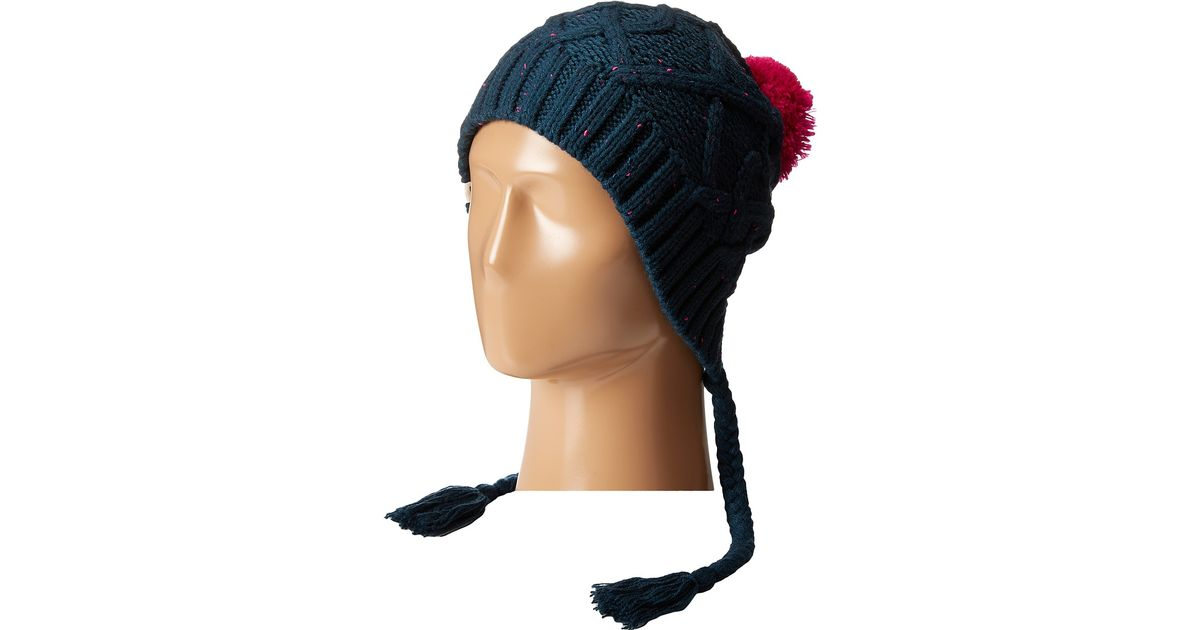 f0df43a31b1 Lyst - The North Face Flecka Earflap Beanie in Blue for Men