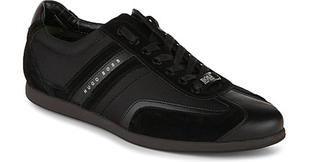 b132dc969 BOSS Stiven Trainers in Black for Men - Lyst