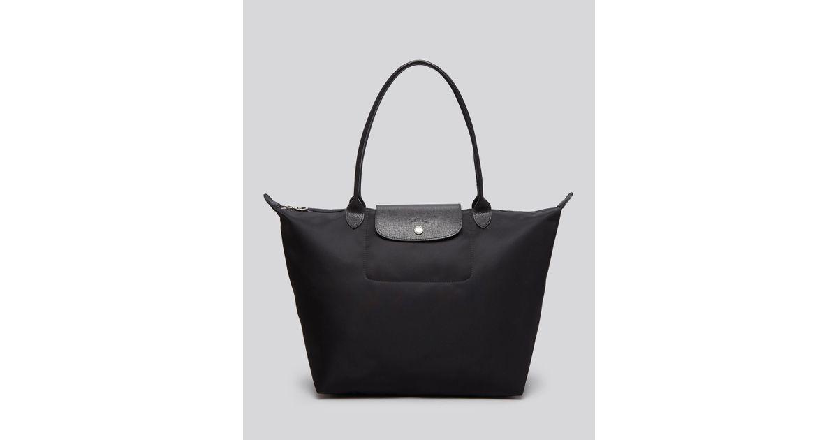 Lyst - Longchamp Le Pliage Neo Large Tote in Black 573a131d5e46d