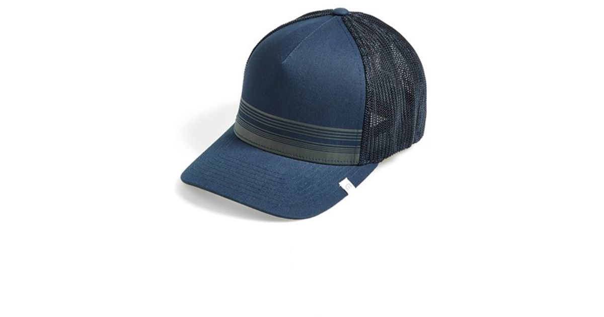 81aacd19f0d ... canada lyst travis mathew thursday trucker hat in blue for men d5282  cbd5b