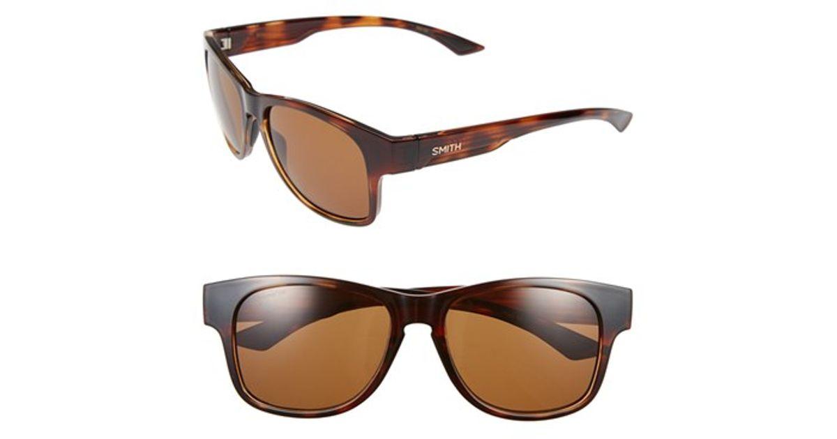 bcd28cc6d5 Lyst - Smith Optics  wayward - Chromapop(tm)  54mm Polarized Sunglasses -  Havana  Brown in Brown for Men