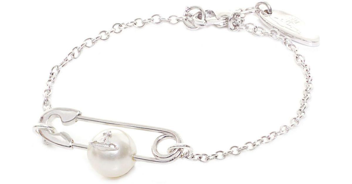low priced c1b3e f267e Vivienne Westwood Jordan Bracelet in Metallic - Lyst