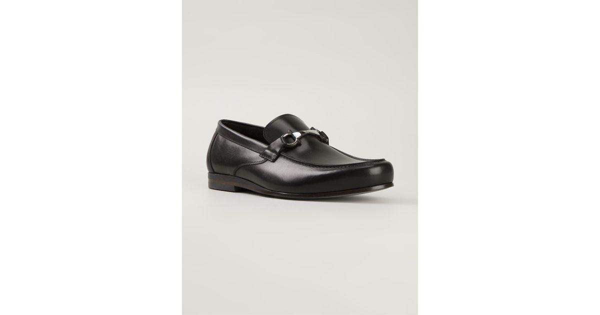26ae3cafeda Lyst - Ferragamo  Nepal  Loafers in Black for Men