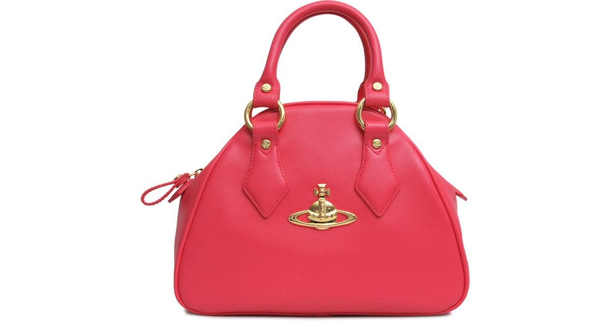 2e7352fd22 Lyst - Vivienne Westwood Mini Yasmin Divina Bag in Red