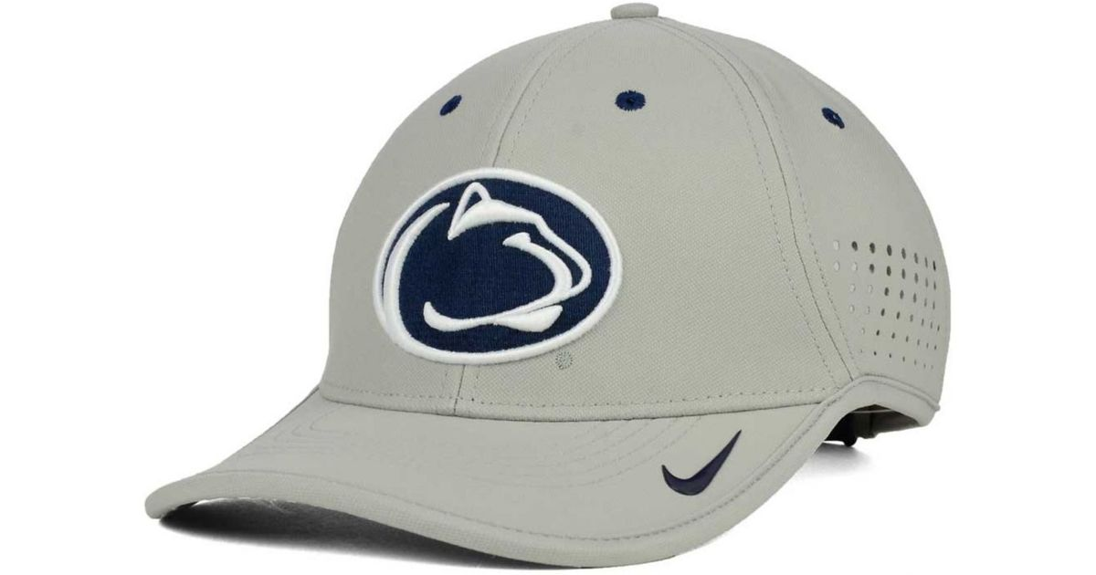 competitive price 94720 a22ec ... where to buy lyst nike penn state nittany lions dri fit coaches cap in  gray for