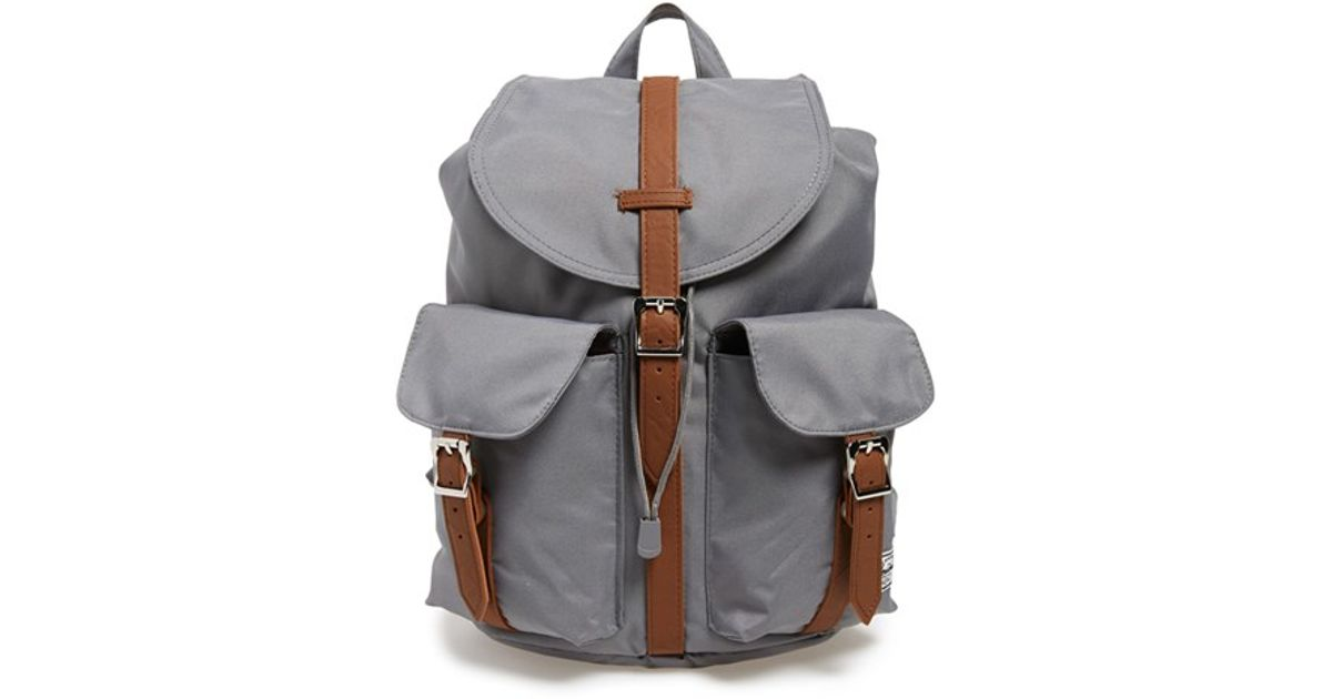 cc8ea23357d3 Lyst - Herschel Supply Co.  dawson - Mid Volume  Backpack in Gray