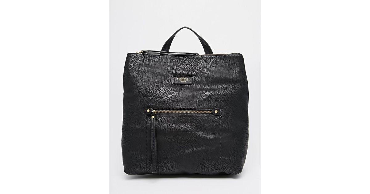 Lyst - Fiorelli Lexi Backpack in Black