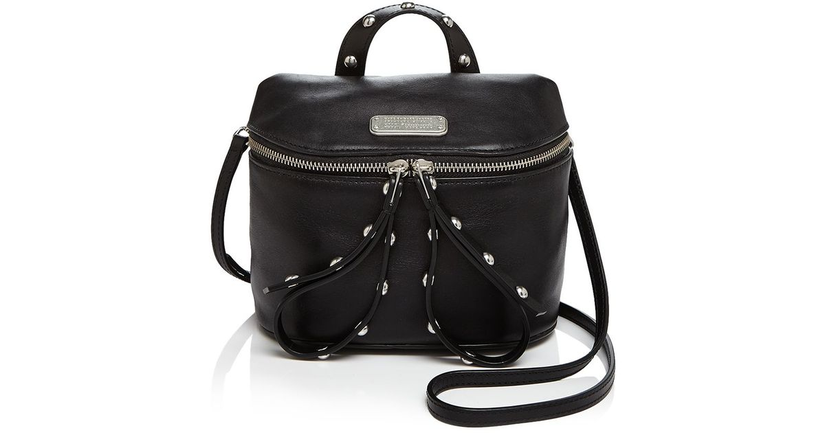0ed551c58a2e Lyst - Marc By Marc Jacobs Canteen Rivets Crossbody in Black