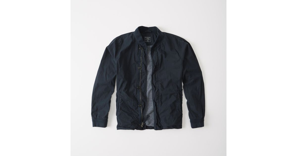 Abercrombie & Fitch Embroidered Bomber Coats & Jackets