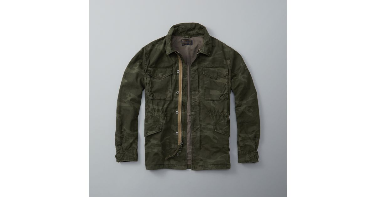 Abercrombie And Fitch Clothing Abercrombie And Fitch Hoodies Abercrombie And Fitch Jackets Abercrombie And Fitch Sweater: Abercrombie & Fitch Twill Military Jacket For Men
